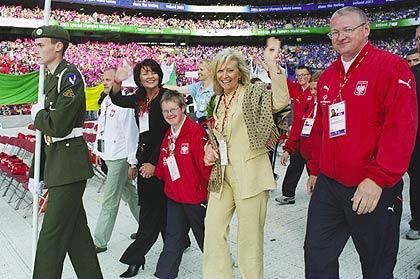 fotografia: uroczyste otwarcie olimpiady