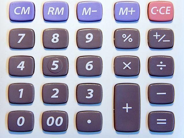 Klawisze kalkulatora