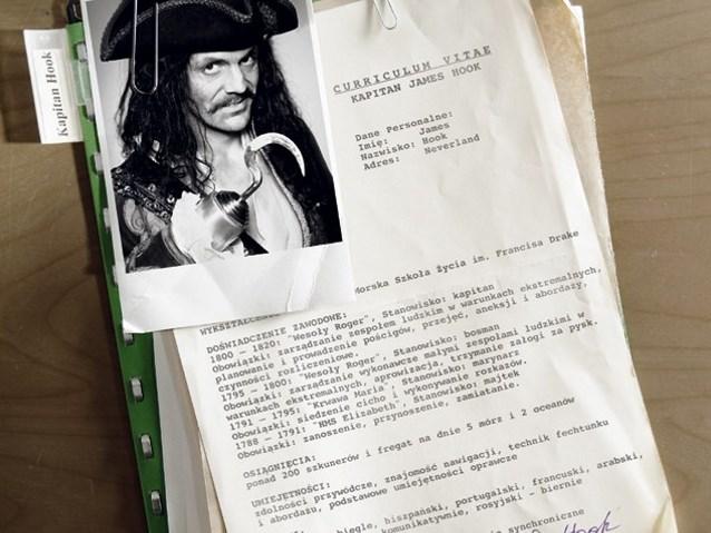CV Kapitana Haka z wyszczególnionym doświadczeniem zawodowym jako kapitana, bosmana, marynarza i majtka