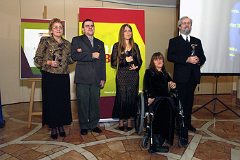 Na zdjęciu: od lewej: Małgorzata Kubela, Romuald Roczeń, Paulina Zaleś, Olesia Kornienko, Grzegorz Kozłowski