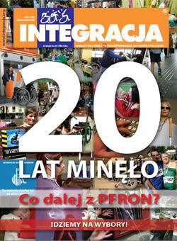 Okładka magazynu Integracja - nr4/2011