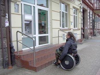 Niestety Bank Spółdzielczy w Pelplinie jest niedostępny – stwierdza stud. Paweł Grabarczyk