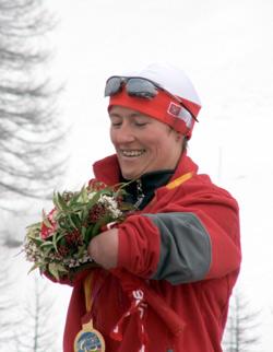 Katarzyna Rogowiec odbiera złoty medal