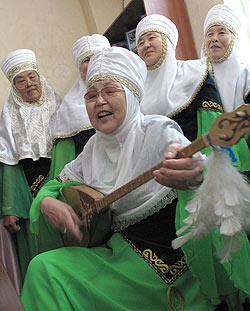 zdjęcie: zespół ludowy, Kazachstan
