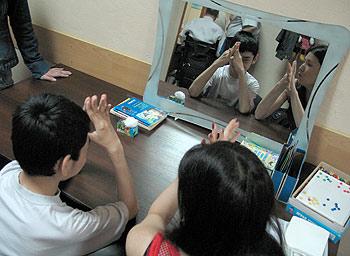 zdjęcie: zajęcia w centrum rehabilitacyjnym
