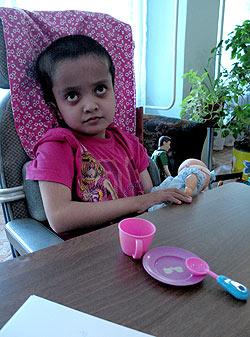 zdjęcie: niepełnosprawne dziecko