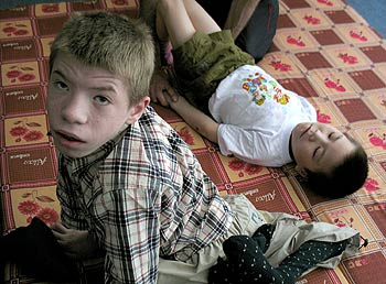 zdjęcie: rehabilitacja w domu dziecka