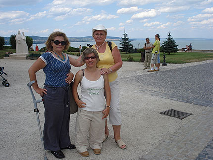Na zdjęciu: jezioro Balaton. Fot. Małgorzata Tokarska
