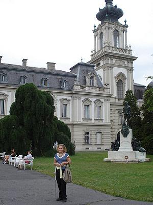 Na zdjęciu: pałac w Keszthely. Fot. Małgorzata Tokarska