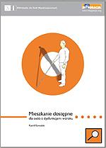 okładka publikacji ''Mieszkanie dostępne dla osób z dysfunkcjami wzroku